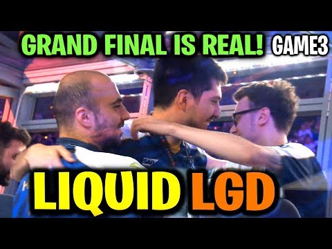 LIQUID vs LGD (Game 3) GRAND FINAL IS REAL! TI9 Dota 2