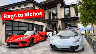 WOULD YOU TAKE THE MANSION OR THE SUPERCARS?