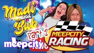 Roblox Meep City Racing - Madi et Bub