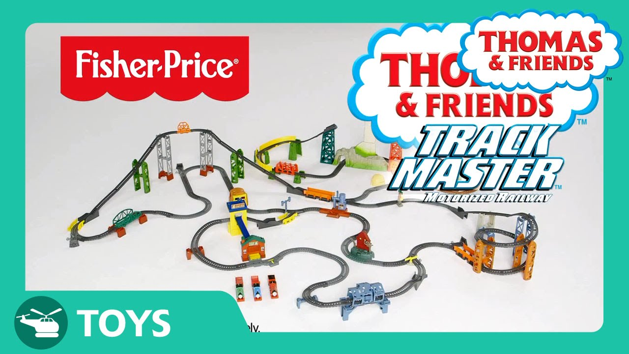 TrackMaster Motorized Railway | Toys | Thomas & Friends - YouTube