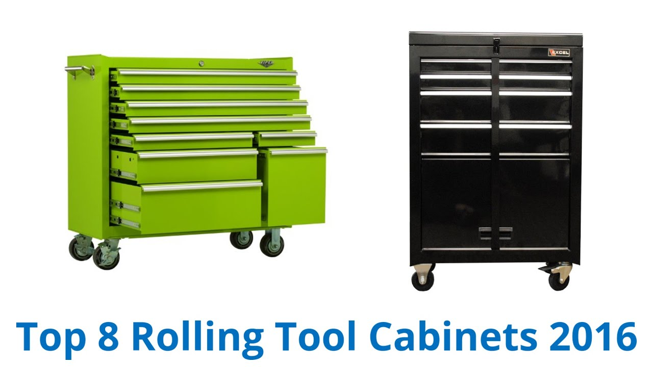 8 Best Rolling Tool Cabinets 2016