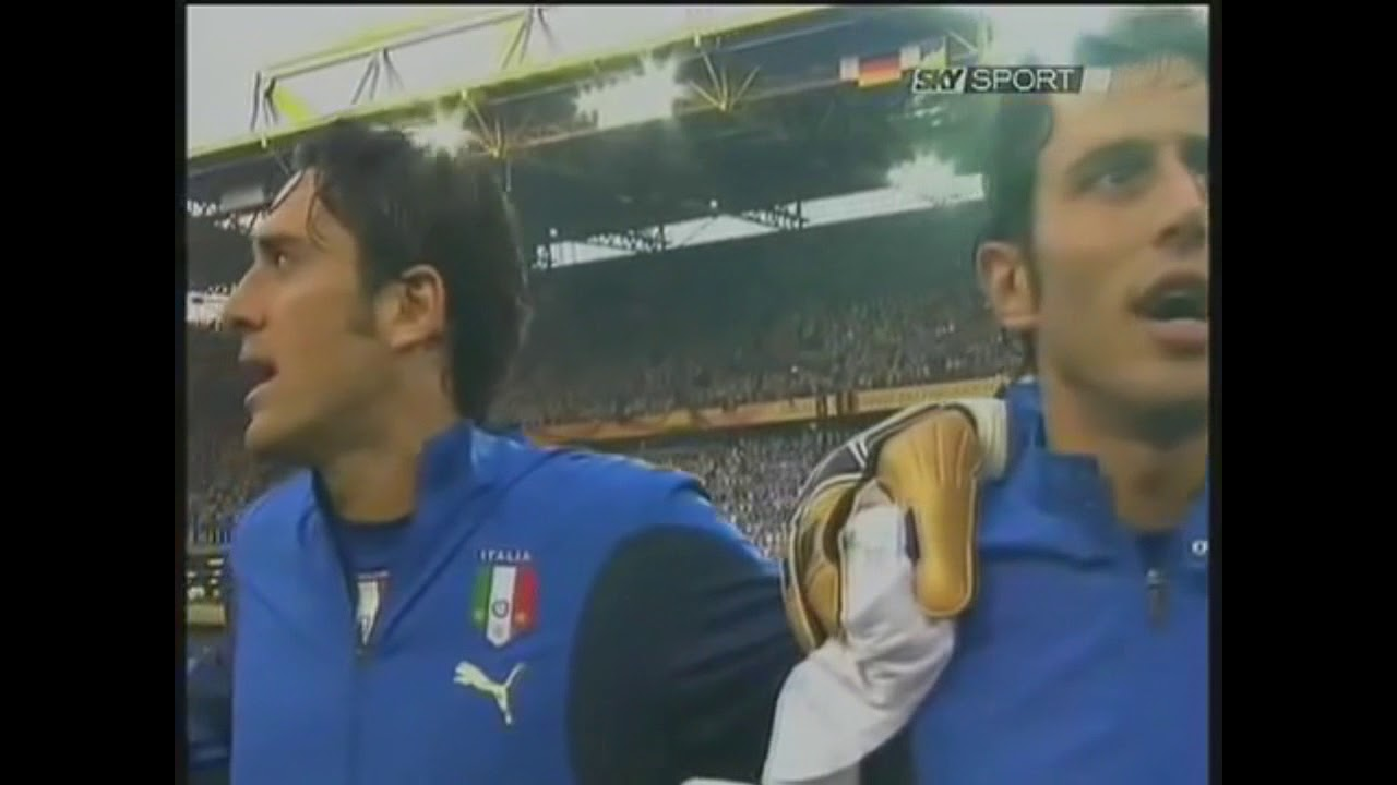 Italian National Anthem Pre-Match (2006 FIFA World Cup Semi-final)