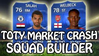 TOTY MARKET CRASH SQUAD BUILDER! CHEAP BPL TEAM - Fifa 15 Gameplay Thumbnail