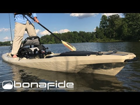 New bonafide ss127 fishing kayak first look icast 2017 for New fishing kayaks 2017