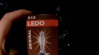 Отлично! Отработали год, каждый день по 3-4 часа, ксенон 4300K,  D1S бренд  LEDO.