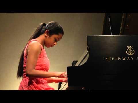 Anjali Bharadwaj. 11 years old. - Beethoven. Ecossaise in G.