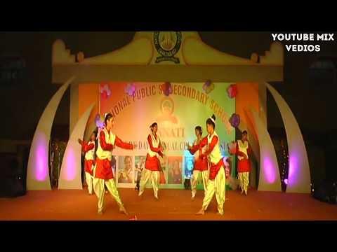 NPS SCHOOL   Tu Hi Tu   dance performance