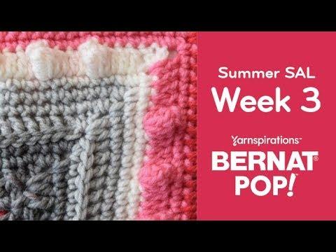 Crochet Summer Stitch Along: Week 3