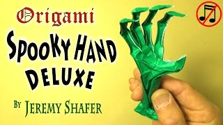 Origami Spooky Hand Deluxe