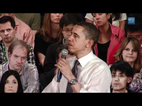 Obama's FaceBook Town Hall Meeting-Full HQ Video