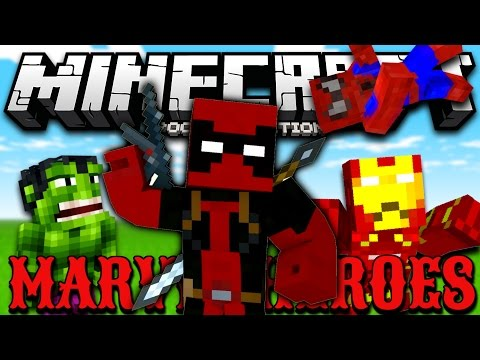 [0.11.1] MARVEL UNIVERSE IN MCPE!!! - Marvel Super Heroes Mod - Minecraft Pocket Edition