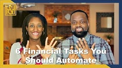 6 Financial Tasks You Should Automate