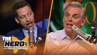 Lakers need to groom AD to take over, talks Celtics, Kawhi & Zion — Chris Broussard | NBA | THE HERD