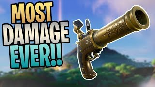 FORTNITE - MOST DAMAGE I've Ever Done! New JACK'S REVENGE Save The World Gameplay