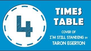 4 Times Table Song (Cover of I'm Still Standing by Taron Egerton)