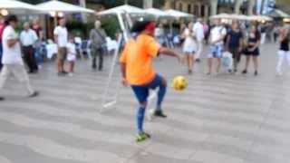 Уличный Футбольный фристайл