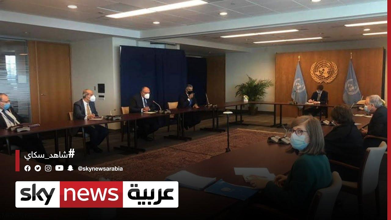 سد النهضة.. وزير الخارجية المصري يبحث مع غوتيريش تطورات الأزمة  - نشر قبل 3 ساعة
