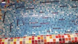 видео Покрасить акриловую ванну с внешней стороны. Утреннее столпотворение в ванной. Совет. Очищать поверхность можно с помощью мягких и абразивных средств с применением, как грубых, так и поролоновых щеток