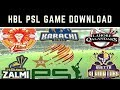 HBL PSL Circket 2018 Game Free Download