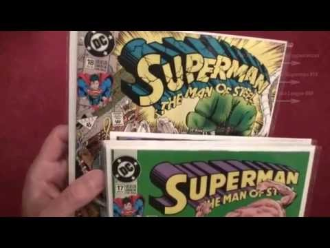 Reading Comics: Death of Superman, Doomsday is Coming, First Appearances, 1992 - ASMR