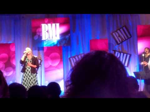 Faith Evans & Timiney Figueroa Calling My Name at BMI Luncheon.mp4