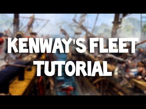 Kenway's Fleet Tutorial & Unlocking Officers Outfit - Assassin's Creed IV