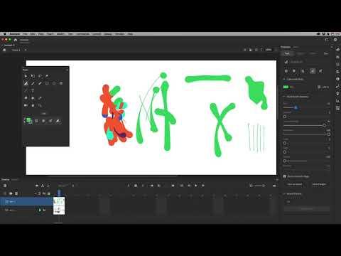 Adobe Animate 2020 - Brush Tools In-Depth