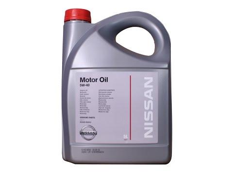 Замена масла на Nisssan. Как отличить подделку масла. Оригинальный фильтр.