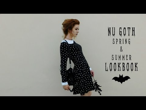 Nu Goth Lookbook | 3 Spring and Summer Outfits