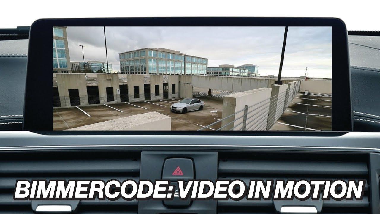 BIMMERCODE: VIDEO IN MOTION