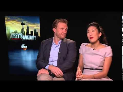 Grey's Anatomy Interviews  Sandra Oh and Kevin McKidd