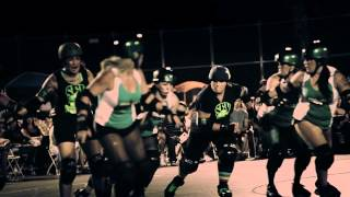 San Fernando Valley Roller Derby Promo - You