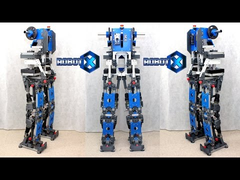 XRobots - Robot X - Walking SCi-Fi Humanoid Robot PART 3, Body & Electronics