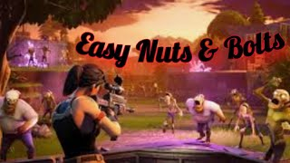 Unlimited NUTS & BOLTS On Fortnite Save The World!