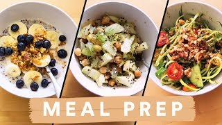 6 Easy Healthy Meals on a Budget (Vegan & Veggie Options)
