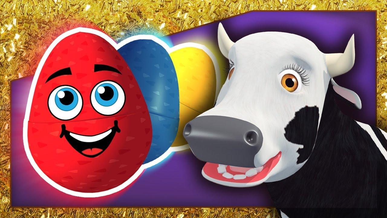 Especial Vaca Lola Huevos Sorpresa Y Mas Juegos En La Granja De