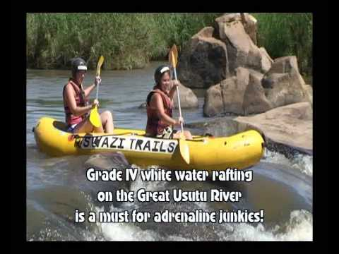 White-water rafting in Swaziland by swazi.travel