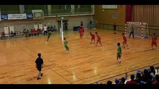 2018IH 男子ハンドボール1回戦 利府(宮城県)対 神埼清明(佐賀県)