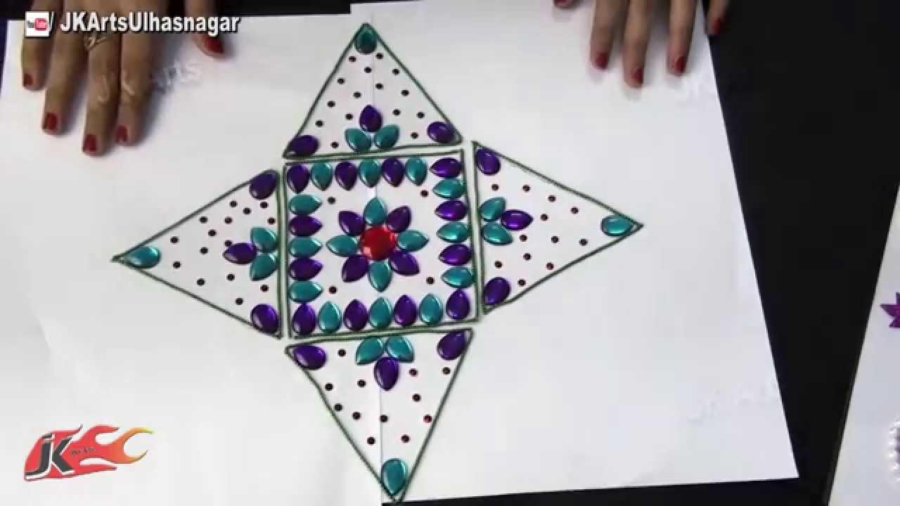 Rangoli designs on ohp sheet crafts for Home made rangoli designs