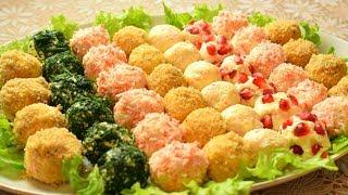 Праздничная закуска Сырные шарики 5 вкусных рецептов Мамины рецепты