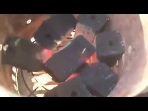Usædvanlig Kokosbriketten briketter - YouTube AN31