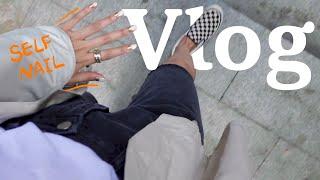 직장인 Vlog | 아싸 외근이다  셀프 젤네일 | 이…