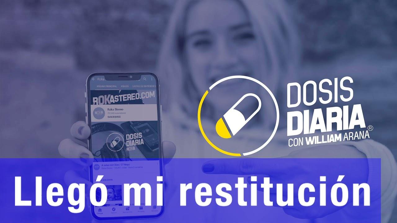Download Dosis Diaria Roka - Llegó mi restitución