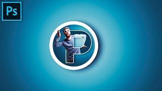 Оформление канала YouTube. Создание логотипа в Photoshop