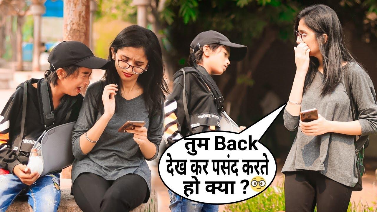 Tum Meri Girlfriend Banogi Funny Comedy Prank   Hilarious Reaction   Prank In India   BRUncut