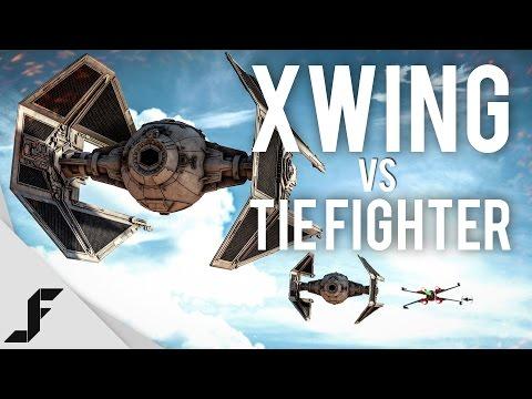 X WING vs TIE-FIGHTER - Star Wars Battlefront Easter Egg