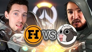 FUNHAUS VS COW CHOP - Overwatch Gameplay