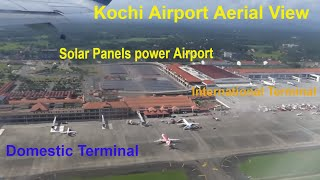 Awesome Boarding & Take-off Captures KOCHI Airport View  Landings Aerial View KOCHI Airport