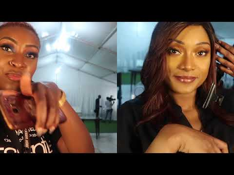 ANGOLA FASHION WEEK LUANDA 2018  🇦🇴 | VLOG MUA LIFE BACKSTAGE DAY 1