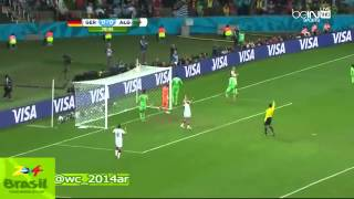 Algérie Vs Allemand / Coup Du Monde 2014 / HD Match Complet / HAFID DARAJI